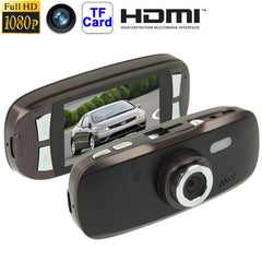 G1W Full HD 1080P 2.7 inch Screen 4X Digital Zoom Vehicle DVR Support TF Card & G-Sensor 120 Degree Wide View Angle