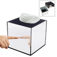 Mirror Box Fashion Safety Hidden Tissue Box for GoPro Sports Cameras DV Home Security