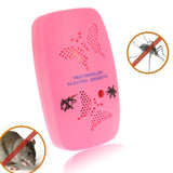 Ultrasonic Electronics Insecticide with Two Steps of Adjustable Pink (EU Plug)