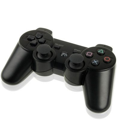 Bluetooth Wireless Dual Shock Game Controller for PS3, Built in Rechargeable Battery