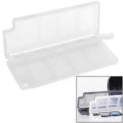 10 in 1 High Quality HEPD Material Game Card Box for Sony PS Vita (White)