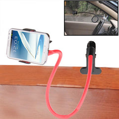 Multi-function Phone Gimbals Lazy Bedside Bed Car Decoration Bracket Phone Holder Tools for Samsung Galaxy S IV / i9500 / Galaxy SIII / i9300 / Galaxy Note II / N7100 / HTC / Nokia / Motorola (Pink)