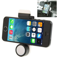 iMount 360 Degree Rotatable Portable Car Air Vent Mount for Smartphones - White