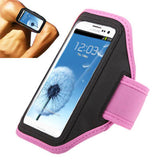 Sports Armband Case for Samsung Galaxy S III / i9300 (Pink Purple)