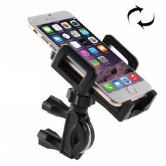 Bicycle Phone Holder for iPhone 6 & 6 Plus iPhone 6s & 6s Plus Samsung Galaxy S7 / S6 / S5 / S IV / HTC Nokia Other Mobile Phone Width: 48-106mm(Black)