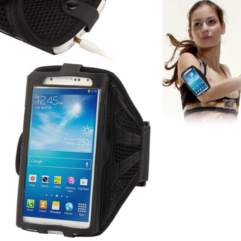Nylon Material Sports Armband Case for iPhone 6 & 6s Samsung Galaxy S7 / S6 / S5 / S4 / S3(Black)