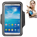 Online Buy PU Sports Armband Case with Earphone Hole for Samsung Galaxy Mega 6.3 / i9200 (Black) | South Africa | Zasttra.com