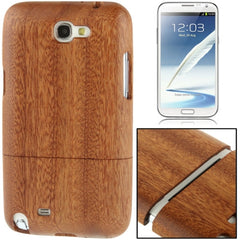 Detachable Entandrophragma Cylindricum Wood Material Case for Samsung Galaxy Note II / N7100