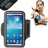 Online Buy PU Sports Armband Case for Samsung Galaxy SIII / i9300 S4 Mini / i919(Black) | South Africa | Zasttra.com