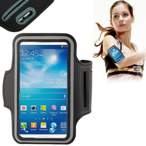 PU Sports Armband Case for Samsung Galaxy SIII / i9300 S4 Mini / i919(Black)