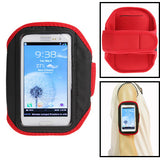 Sports Armband Case for Samsung Galaxy SIII / i9300 (Red)