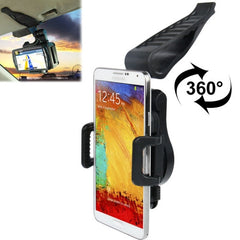 Universal 360 Degrees Rotation Clamp Car Holder for Samsung Galaxy Note III / N9000 / N7100 / i9500 / i9300 / i9200 iPhone 5 & 5S & 5C / iPhone 4 & 4S etc.