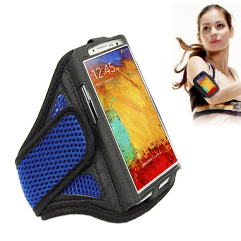 Sports Armband Case for Samsung Galaxy S7 Edge / Note 4 / N910 Note 3 / N900(Blue)