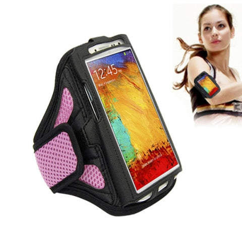 Sports Armband Case for Samsung Galaxy S7 Edge / Note 4 / N910 Note 3 / N900(Pink)