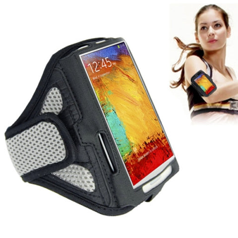 Sports Armband Case for Samsung Galaxy S7 Edge / Note 4 / N910 Note 3 / N900(Grey)