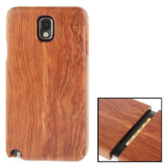 Detachable Redwood Material Case for Samsung Galaxy Note III / N9000