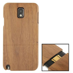 Black Pear Wood Material Case for Samsung Galaxy Note III / N9000