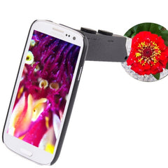 60-100X Zoom Digital Mobile Phone Microscope Magnifier with Plastic Case & LED Light for Samsung Galaxy S III / i9300