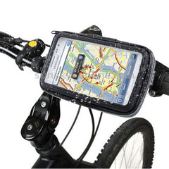Bike Mount & Waterproof Touch Case for Samsung Galaxy Note / i9220 / N7000 Note II / N7100  Note III / N9000(Black)