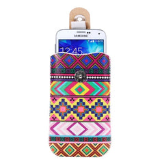 Color Printing Pattern Magnet Buckle Leather Cases for Samsung Galaxy S7 / S6 / S5 / Grand Duos Size: 14.5cm x 8.5cm