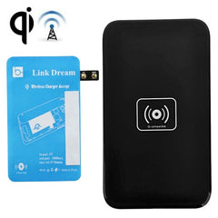 Link Dream QI Wireless Charging Pad and Charging Receiver for Samsung Galaxy Note Edge / N915V / N915P / N915T / N915A (Blue + Black)