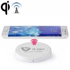 Itian Wireless Charger Transmitter Charging Plate (White)
