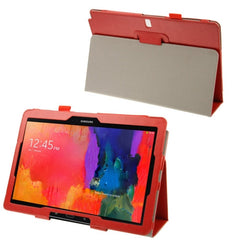 Crazy Horse Texture Flip Leather Case with Holder for Samsung Galaxy Note & Tab Pro 12.2 / P900  (Red)