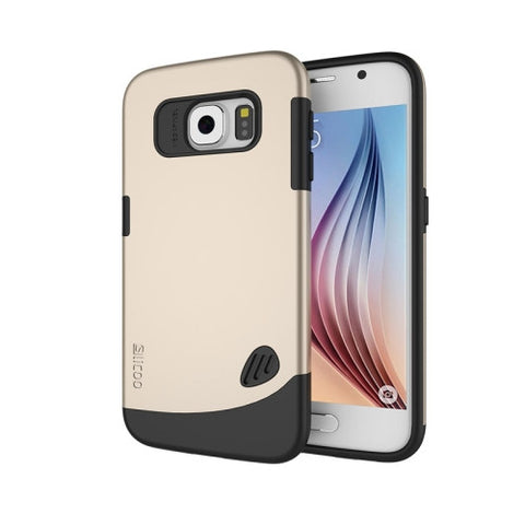 Slicoo for Samsung Galaxy S6 / G920 TPU + PC Combination Case (Gold)