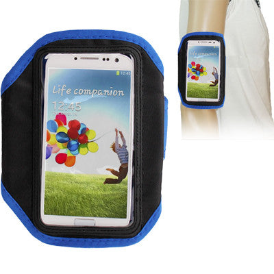 Sports Armband Case for Samsung Galaxy S IV / i9500 (Blue)