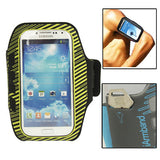 Luxury Sports Armband Case with Key Pocket for Samsung Galaxy S IV / i9500  / i9300 (Yellow)