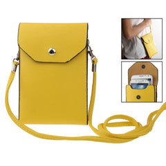 Universal Litchi Texture Leather Case Pocket Sleeve Bag with Lanyard for iPhone 6 Plus iPhone 6S Plus Samsung Galaxy S7 / S7 Edge / S6 edge Plus / A8 / Note 5 / Note 4 / S IV HTC ASUS Sony LG Nokia(Yellow)