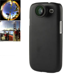 180 Degree Fisheye Lens + 0.67X Wide Lens + Marco Lens + Plastic Case for Samsung Galaxy S III / i9300 (Black)
