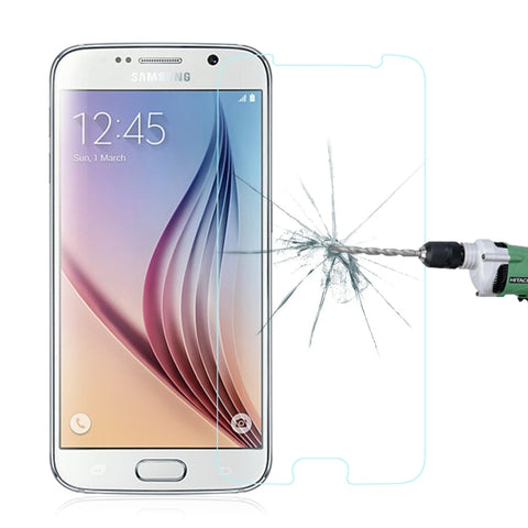 0.3mm 2.5D Explosion-proof Tempered Glass Screen Protector for Samsung Galaxy S6
