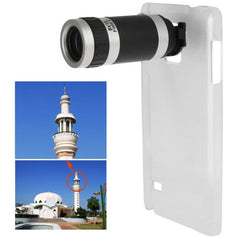8 X Mobile Phone Telescope with Transparent Plastic Case for Samsung Galaxy Note 4 / N910