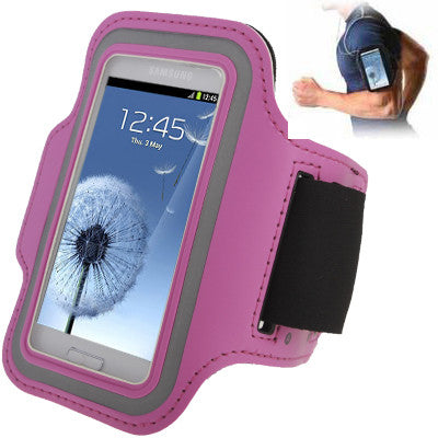 Sports Armband Case with Earphone Hole for Samsung Galaxy SIII mini/ i8190  Galaxy Trend Duos / S7562 (Pink)