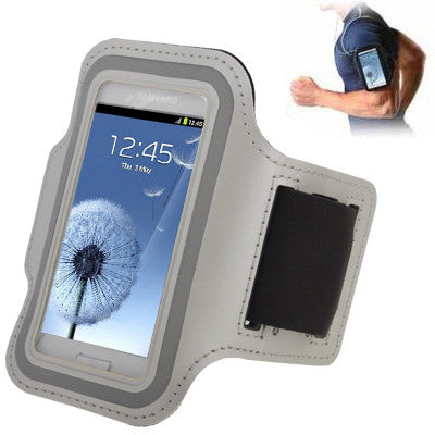 Sports Armband Case with Earphone Hole for Samsung Galaxy SIII mini/ i8190  Galaxy Trend Duos / S7562 (Grey)