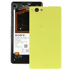 Battery Cover for Sony Xperia Z1 Mini(Yellow)