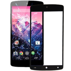 Front Screen Outer Glass Lens for LG Nexus 5 / D820 / D821(Black)