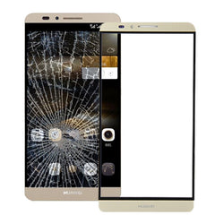 Front Screen Outer Glass Lens for Huawei Ascend Mate 7(Gold)