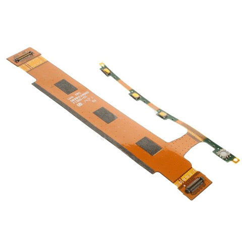 iPartsBuy Power Button and Volume Button Flex Cable for Sony Xperia T3 / D5102 / D5103 / D5106