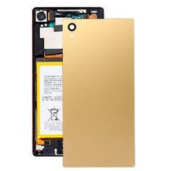 iPartsBuy for Sony Xperia Z5 Original Back Battery Cover(Gold)