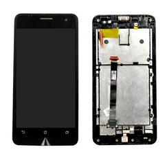 iPartsBuy LCD Screen + Touch Screen Digitizer Assembly with Frame for Asus Zenfone 5(Black)