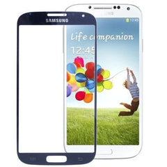 Original Front Screen Outer Glass Lens for Samsung Galaxy S4 / S IV / i9500 (Navy Blue)