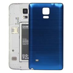 Black Edge Brushed Texture Back Cover Replacement for Samsung Galaxy Note 4(Dark Blue)