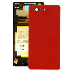 iPartsBuy Original Battery Back Cover for Sony Xperia Z3 Compact / D5803(Red)