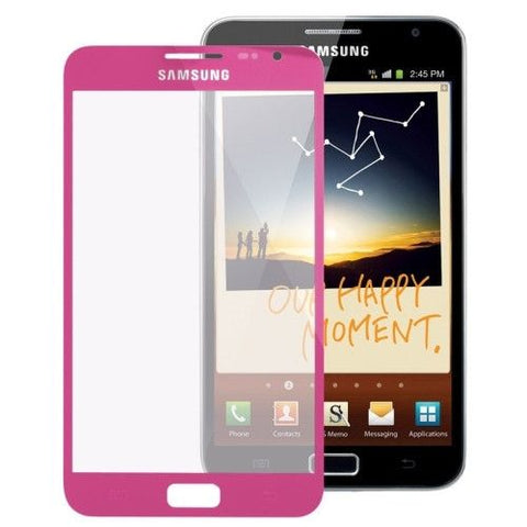 Original Front Screen Outer Glass Lens for Samsung Galaxy Note / i9220 (Magenta)