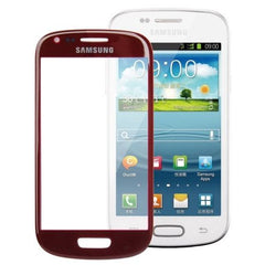 Original Front Screen Outer Glass Lens for Samsung Galaxy S3 / SIII mini / i8190 (Red)
