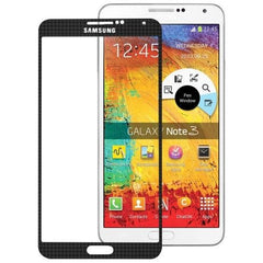 Original Front Screen Outer Glass Lens for Samsung Galaxy Note III / N9000 (Black)