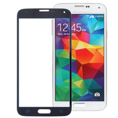 Front Screen Outer Glass Lens for Samsung Galaxy S5 / G900 (Dark Blue)