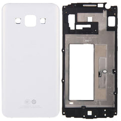 iPartsBuy Full Housing Cover(Front Housing LCD Frame Bezel Plate + Rear Housing) for Samsung Galaxy A3 / A300(White)